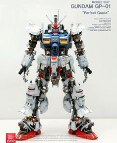 ACOUSTIC's Latest work: PG 1/60 RX-78 GP-01 GUNDAM Full Hatch Open: Photo Review Big Size Images http://www.gunjap.net/site/?p=305811