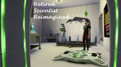 Retired Scientist Reimagined by coolspear1 at Mod The Sims via Sims 4 Updates Check more at http://sims4updates.net/mods/retired-scientist-reimagined-by-coolspear1-at-mod-the-sims/