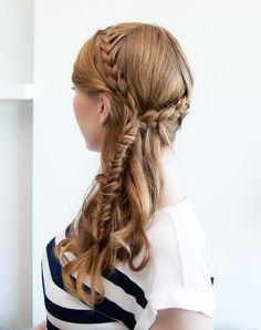 Bohemian braids hairstyle on Design Every Day