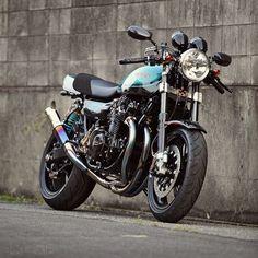 1974 Kawasaki Bull Dock Z1 Custom Motorcycle