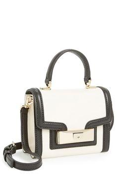 38102d71ea94 kate spade new york 'carroll park - mini penelope' crossbody bag Black  Leather Crossbody