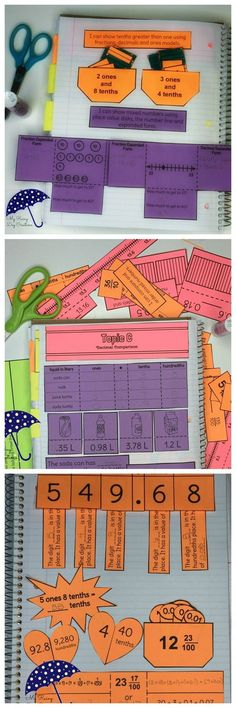 Grade Math Engage New York Aligned Interactive Notebook: Year Bundle Math Tutor, Teaching Math, Maths, Learning Multiplication, Math Education, Math Games, Special Education, Interactive Math Journals, Math Notebooks