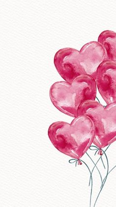 Ideas Birthday Wallpaper Balloons Happy For 2019 Flower Wallpaper, Wallpaper Backgrounds, Iphone Wallpaper, Heart Wallpaper, Tumblr Wallpaper, Valentines Day Wallpaper Phone Wallpapers, Birthday Wallpaper, Pink Wallpaper, Pretty Wallpapers