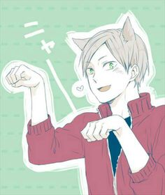 Haikyuu Lev OMG he is so kawaaaaaaii ^_^