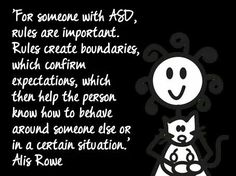 Asperger's syndrome is the mildest form of autism and includes higher functioning. Here are some of the common symptoms associated with Asperger's Syndrome. Autism Awareness Quotes, Disability Awareness, Aspergers Autism, Asd, High Functioning Autism, Autistic People, Sensory Processing Disorder, Autism Resources, Autism Spectrum Disorder