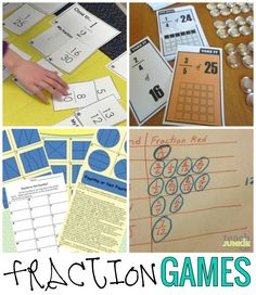 Fractions are a part of many second through fifth grade classrooms. These 20 fraction games, fraction worksheets, activities and resources will help simplify your lesson planning.