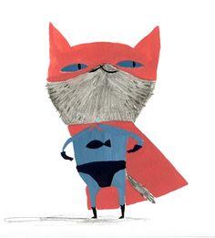 Ella Bailey Illustration: Cool Cats