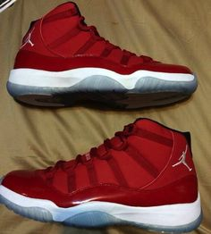 newest 1d5ba 8da7b Air Jordan 11 Carmelo Anthony Red Edition Nike Air Jordans, Shoes Jordans, Retro  Jordans