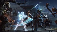 Shadow of Mordor Is the Best Lord of the Rings Game Ever—Talion's mysterious wraith companion is the source of the ranger's supernatural powers.
