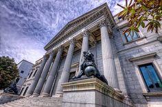 Palacio de las Cortes de España, Madrid HDR | Flickr: Intercambio de fotos