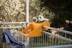 balKonzept Balkontisch + Balkonkasten / balcony table + flowerbox Balkonkonzept