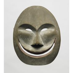 Moon mask possibly early 19th century Historic Yup'ik Alaska Princeton University Art Museum