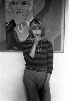 Pauline Boty a great but neglected British pop artist, died very young.