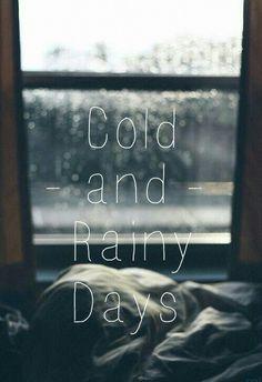 Cold And Rainy shared by a. Gyorvary on We Heart It I Love Rain, No Rain, Rainy Morning, Rainy Days, Rainy Night, Rainy Sunday, Rainy Weather Quotes, Rainy Mood, Morning Person