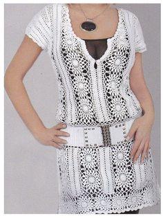 Delicadezas en crochet Gabriela: Blusón y túnica