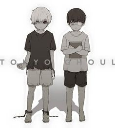 """Broken from the Start."" - Kaneki Ken child"