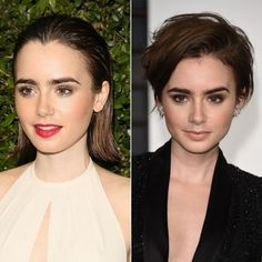 Lily Collins Chops Her Hair into a Pixie!  #InStyle