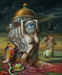 Jarosaw Jasnikowski surrealism   http://surrealistisch.blogspot.nl/2012/12/jarosaw-jasnikowski.html