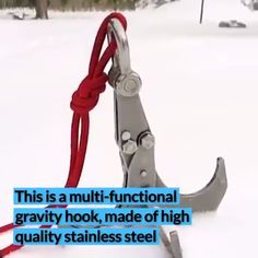 "Grab Yours Today > Stainless Steel Survival Folding Gravity Hook - Tlbrandyjr - Grab Yours Today > Stainless Steel Survival Folding Gravity Hook Stainless Steel Survival Folding Gravity Hook ""> Grab Yours Today > Stainless Steel Survival Folding Hook - Bushcraft Camping, Camping Survival, Survival Life Hacks, Survival Tools, Survival Prepping, Survival Weapons, Outdoor Survival, Home Gadgets, Gadgets And Gizmos"