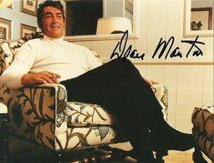 DEAN MARTIN original autograph signed photo private portrait 90s