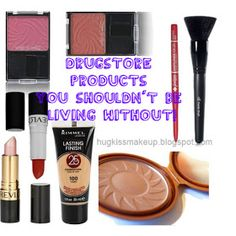 Drugstore products that you should NOT be living without! Goes over in detail great must have makeup, MOST UNDER FIVE DOLLARS! Great blog.