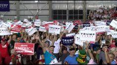 LIVE Stream: Donald Trump Rally in Greensboro NC 10/14/16 https://www.youtube.com/watch?v=4vPTO9Uiz0k