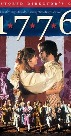 1776 DVD - A musical American history lesson about the birth of a nation. See the first congress in action as they wrestle with the British invasion and are persuaded by John Adams, Benjamin Franklin and Thomas Jefferson to declare independence. 1776 Movie, Movie Tv, John Adams, Thomas Jefferson, Benjamin Franklin, Us History, American History, Funny History, History Class