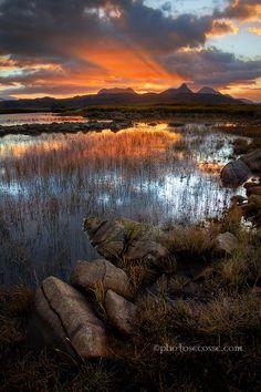 Sunrise. Stac Pollaidh, Coigach. North West Scotland. by  Barbara Jones on 500px.com