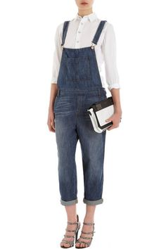 100 best new fall denim: the overalls