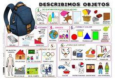 Describir objetos by María Sebastián White via slideshare