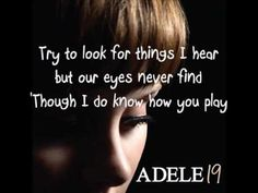 Adele cold shoulder w/ lyrics
