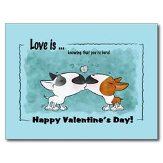 Bull Terrier, Happy Valentine's day