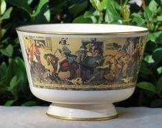 """Gorham China Norman Rockwell """"YANKEE DOODLE"""" 1976 Limited Ed Decorative Bowl  #Gorham"""