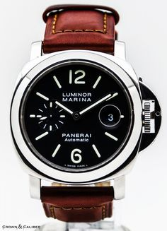 Crown & Caliber sell fine, pre-owned vintage watches like our Panerai Luminor Marina PAM 279 from the worlds most luxurious brands. Panerai Automatic, Panerai Luminor Marina, Panerai Watches, Vintage Watches, Watches For Men, Gallery, Stuff To Buy, Accessories, Wristwatches