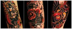 Tattoo Inspiration by Sa Jin, South Korean tattoo Artist