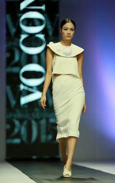 Vietnam Fashion Week SS15 - Ready to wear. Designer: VO CONG KHANH. Photo: Nguyen Thanh Dat