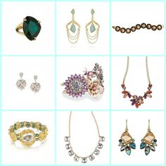 Bridesmaid Bling- Wedding Day Style File and fabulous jewels by Chloe and Isabel