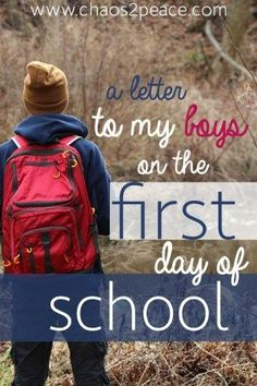 My heart is always full of emotions as I send my boys off to school each year. Here are some practical things to pray over your children as they head to school each day.