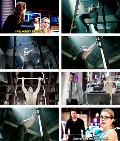 Arrow - Caitlin and Felicity #3.8 #Season3 ♥