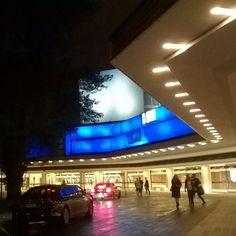 Helsingin kaupungin teatteri illalla 31/8/17 #hktfi @hktfi #Helsinki #night