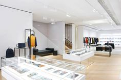 dior homme has brand new digs, sharing premises with the brand's women's line in mayfair.