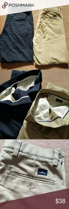 2 Pairs of Dockers Nice pants.  NWOT Khakis  Slightly used blue pants  Both Same Size: W31 L30 Dockers Pants Chinos & Khakis