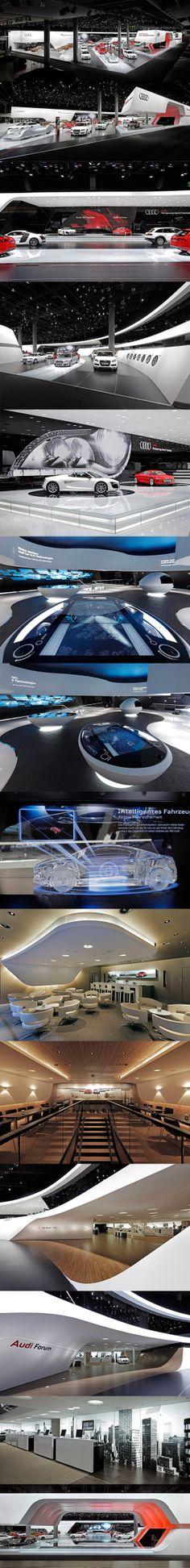 Audi...as usual UBER impressive exhibits! http://msc.prosite.com