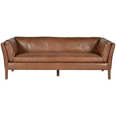 Halo Groucho Large Aniline Leather Sofa Online at johnlewis.com #FashionYourHome