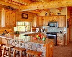 Cabin kitchen <3