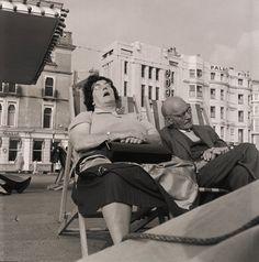 Sunbathing, Brighton: 1963, Henry Grant