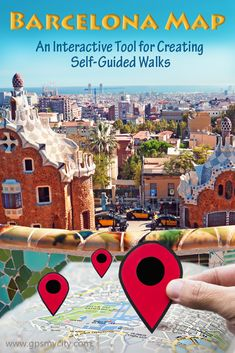 Use this interactive tool to create self-guided sightseeing maps in Barcelona. Europe Travel Tips, Travel Destinations, Travel Plan, Best Countries In Europe, Barcelona Spain Travel, Walking Tour, Trip Planning, Travel Inspiration, Traveling By Yourself