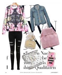 Untitled #15 by dimitrova28 on Polyvore featuring polyvore fashion style Miss Selfridge Keds Casetify Marc by Marc Jacobs clothing