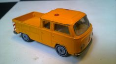 siku 1315 vw t2 pickup with clear windows R11 wheels production 1975-88