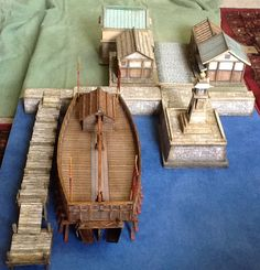Tomo-no-ura Lighthouse Additions - Game Tables, Table Games, Rpg Board Games, Model Sailing Ships, Lead Adventure, Toy Theatre, Boat Stuff, Asian History, Japanese Architecture